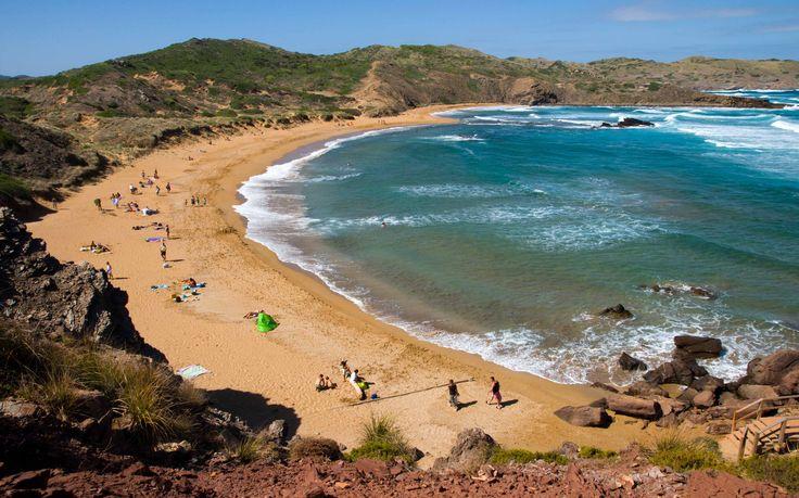 Platja Cavalleria #Menorca #IslasBaleares #dosmaletas http://www.dosmaletas.com/2013/08/menorca-calas-y-playas.html