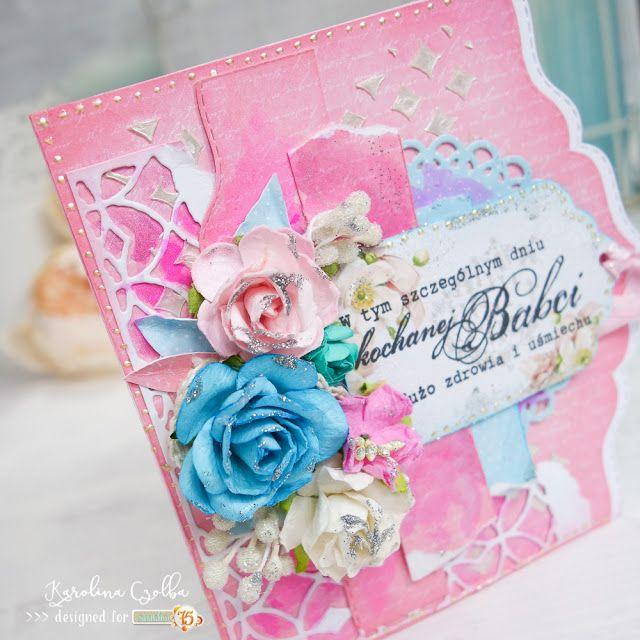 Blog studio75.pl: Kartka na Dzień Babci / Grandmother's Day card