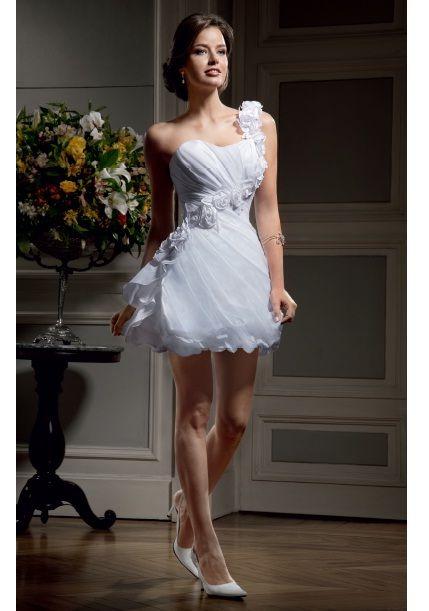 vestidos de noiva curtos: Moderno Vestidos, Vestidos De Novia Moderno, Noivacurto, Vestidos De Noiva Curto, Cute Dresses, Nova Noiva, Curto Nova, Dos Vestidos, Short Dresses