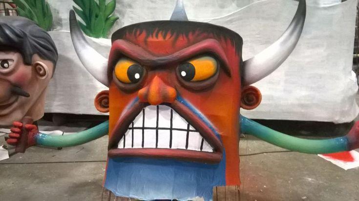 Carnevale di Sant' Eraclio saranno svelati i sei carri allegorici