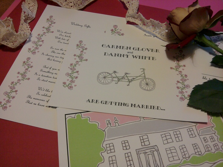bicycle theme wedding invitations    http://montymanatee-weddings.com/wp-content/ad-images/2012/03/new-stationery-pics-17.jpg
