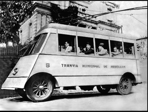 Trolibus, Medellin