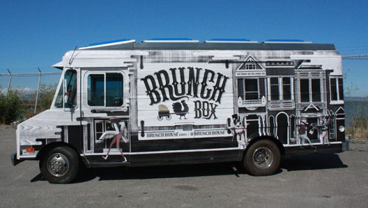 LOVE the artwork on this San Francisco brunch truck! (by local artist Michael Jeter)