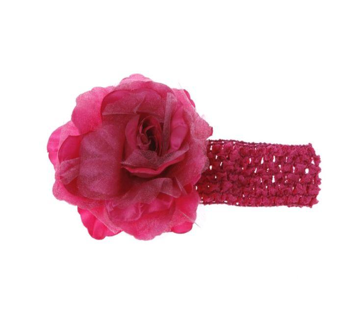 Preetee Baby παιδική κορδέλα μαλλιών «Big Rose»  €3,50