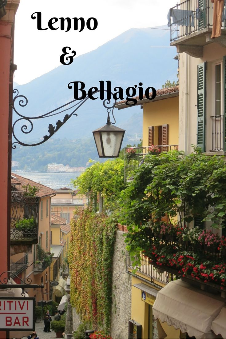 Visit Lenno for the famous Villa del Balbianello and Bellagio.....well just because it's one of the most famous towns on Lake Como.  Follow my blog at www.beerandcroissants.com