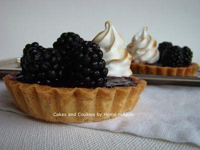 Cakes and Cookies by Home mAade: Bramen-meringue vlaaitjes