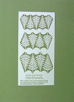 Kit de feuilles de fougère à pied de lapin