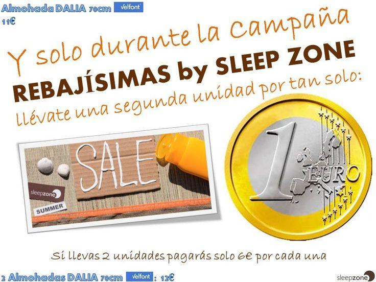 ¿Tienes 12€? Pues en Sleep Zone tienes 2 almohadas Velfont