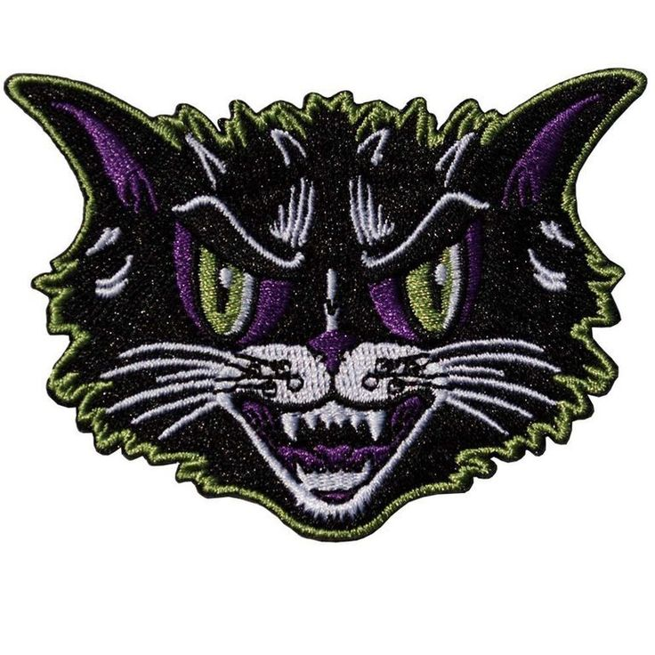 From our favourite Kattitude range by Kreepsville 666, this embroidered iron-on patch is approx. 3.25 inches (8cm) high. While this patch is iron-on, we would recommend a couple of stitches for e...