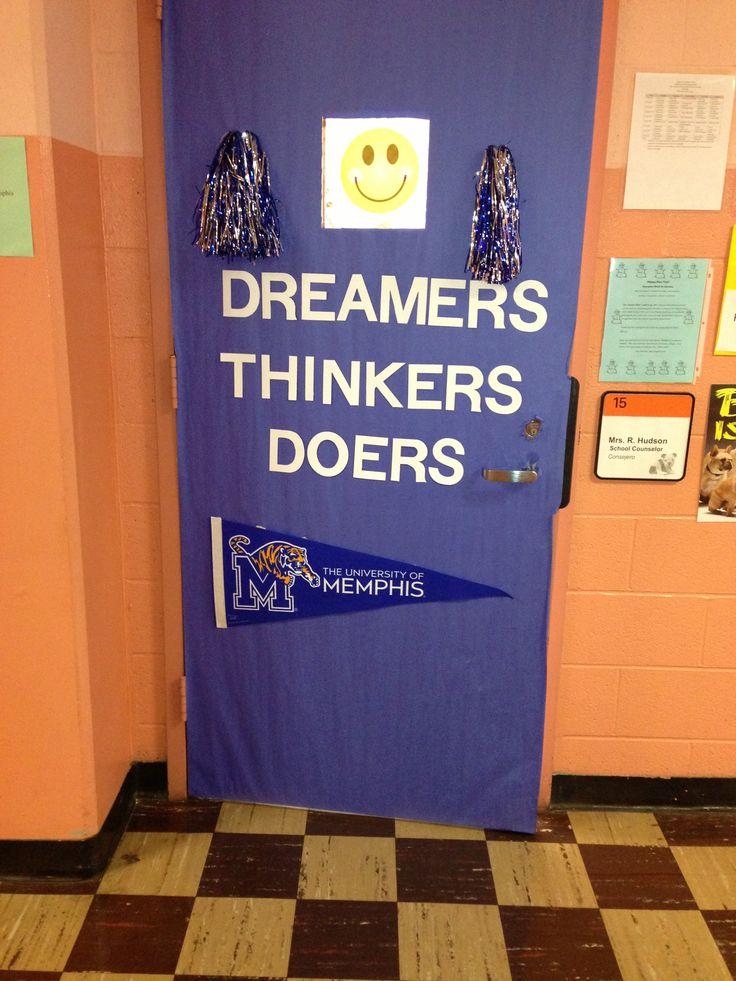 College Door My Door Decor Pinterest College