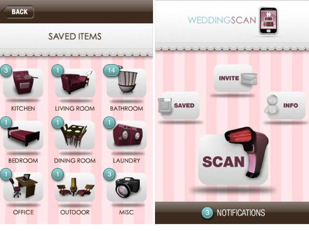 The 13 Best Apps For Planning A Wedding Scan AppWedding Gift RegistryWedding
