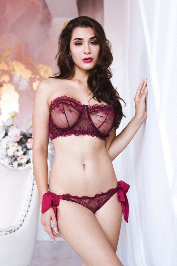 Lace Lingerie Set 062a750c9