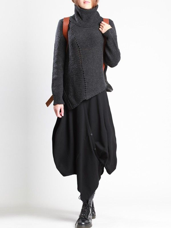 Visions of the Future // Knit Wool Sweater by LURDES BERGADA