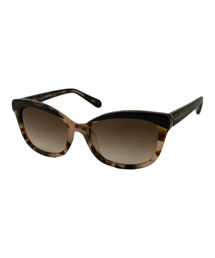 Kate Spade Tortoise Shell Glasses Frames : Kate Spade Black Blush & Tortoise Amara Sunglasses ...