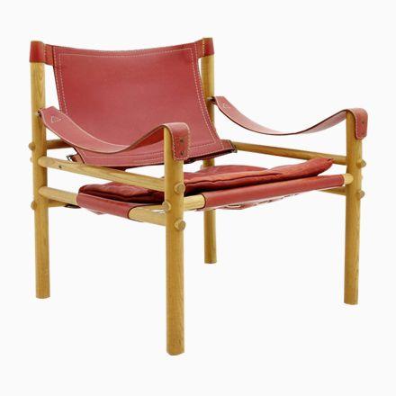 Roter Safari Ledersessel von Arne Norell für Bolighus, 1960er Jetzt bestellen unter: https://moebel.ladendirekt.de/kueche-und-esszimmer/stuehle-und-hocker/armlehnstuehle/?uid=09b16cce-c52e-5f88-81c6-8bcd6ea3e45d&utm_source=pinterest&utm_medium=pin&utm_campaign=boards #kueche #esszimmer #armlehnstuehle #hocker #stuehle