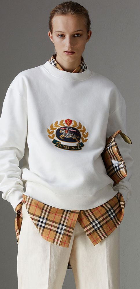 9404b24356b A reissued 1991  Burberry Champion sweatshirt