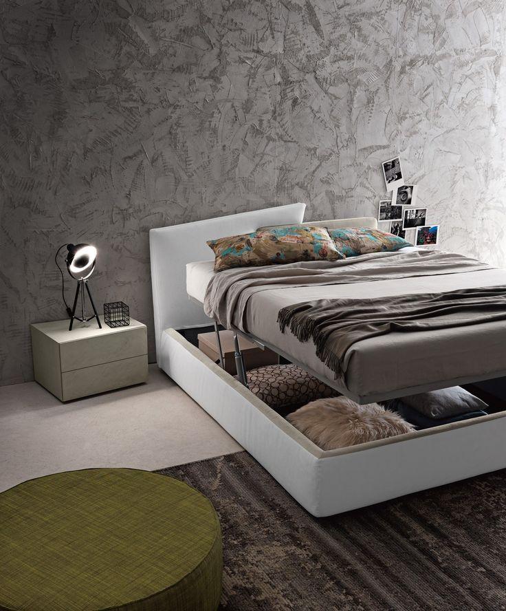 Oltre 25 fantastiche idee su testiera letto contenitore su - Letto con testiera contenitore ...