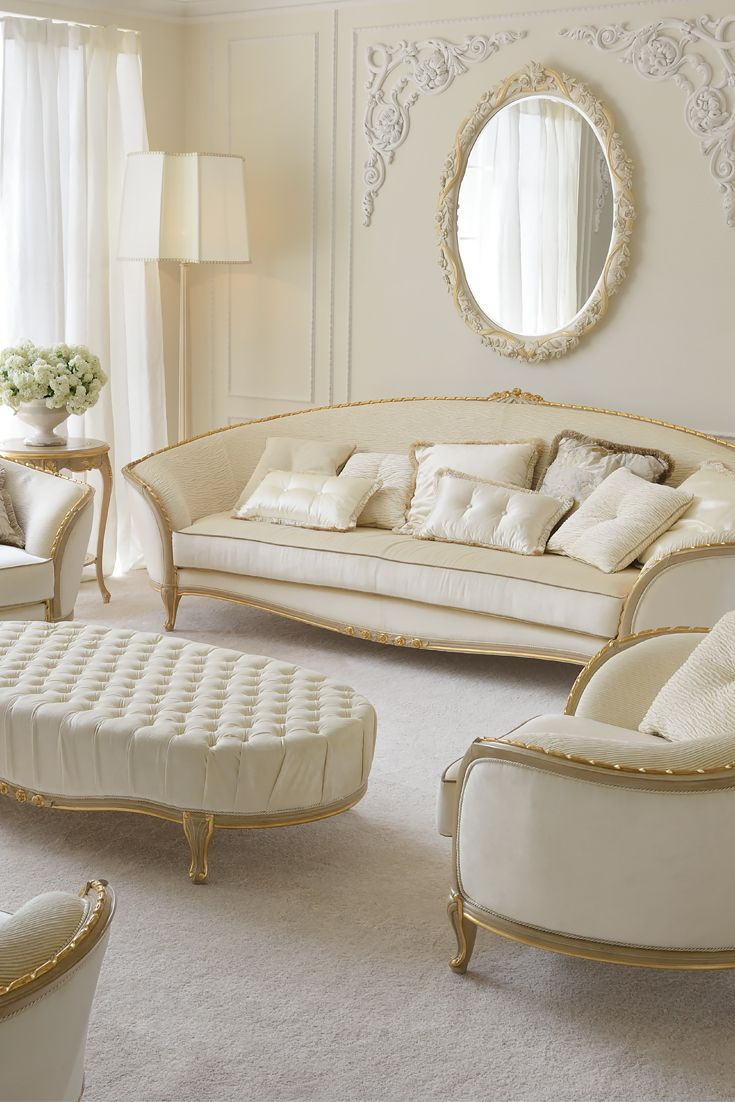 Extraordinary Classic Luxury Furniture. Italian Furniture Collection contains luxury pieces, soft lines with palatial designs offering high quality classic Italian furniture with customers choice of colours, finishes and fabrics. | rickysturn/home-styling