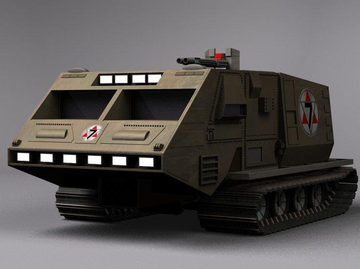 Battlestar Galactica: Landram 01 by Tenement01.deviantart.com on @DeviantArt