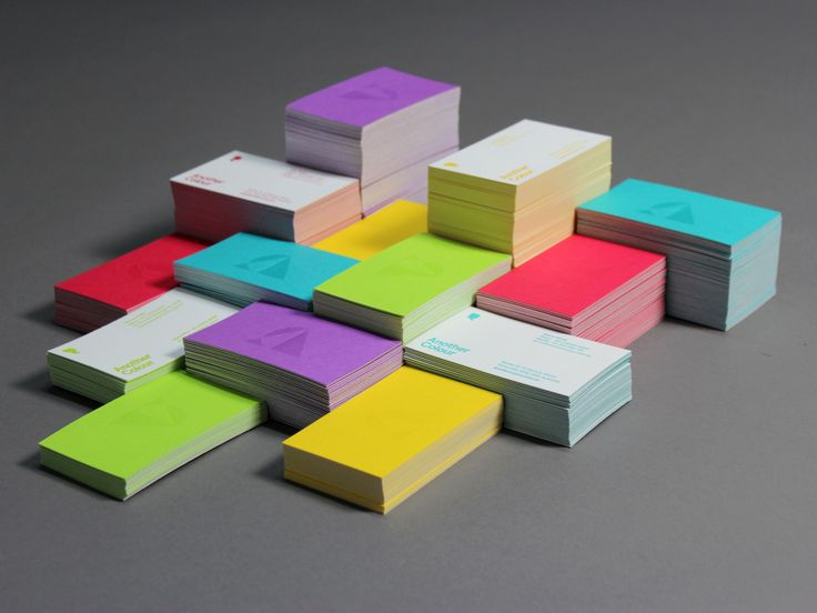 Business Cards :: Another Colour