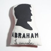 because every little girl needs an Abraham Lincoln pillow
