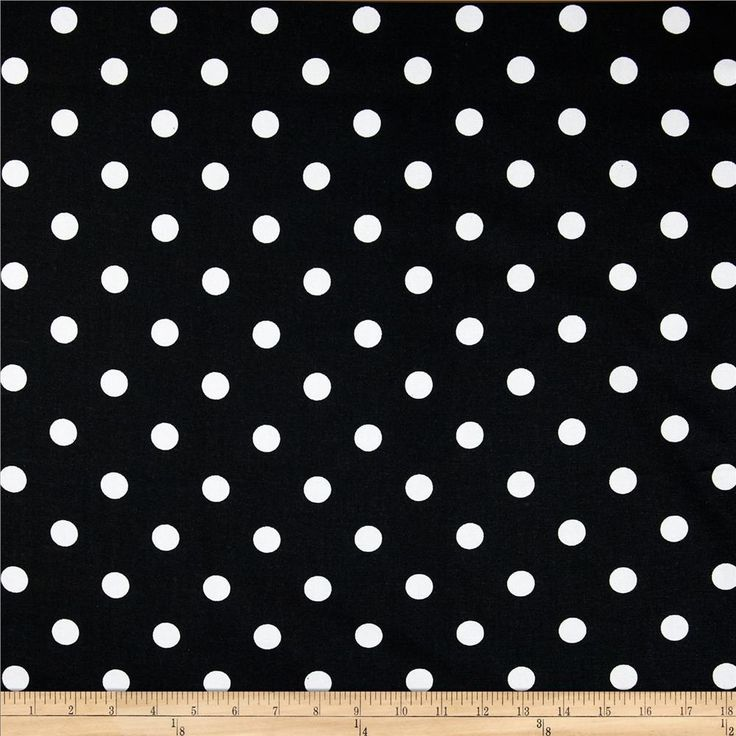 Premier Prints Polka Dot Black/White from @fabricdotcom  Screen printed on cotton duck; this versatile medium weight fabric is perfect for window accents (draperies, valances, curtains and swags), toss pillows, bed skirts, duvet covers, slipcovers and upholstery. Get creative with tote bags and aprons, too!  Colors include black and white.