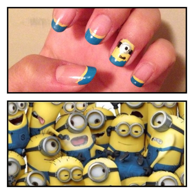 Minions despicable me 2 nails