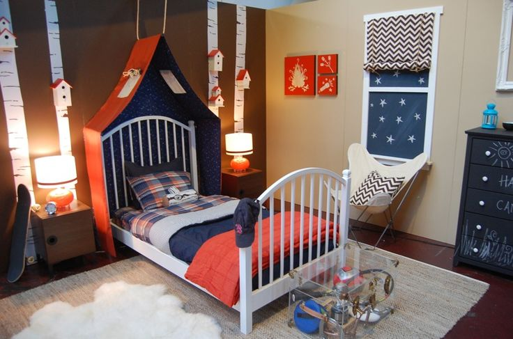 Best 25+ Boys Camping Room Ideas On Pinterest