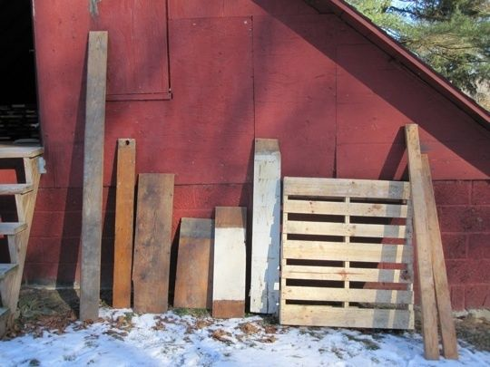 Where to buy reclaimed wood and how to choose wood- good article with helpful links