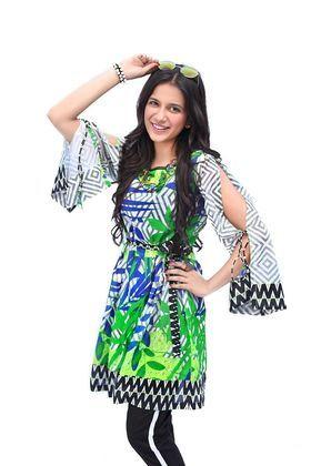 d099f3accb Gul Ahmed 1 Piece Printed Lawn Custom Stitched Shirt - SL-480 - Green