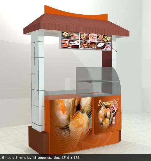 Bikin Rombong, Counter Booth, KiosK, Gerobak, Exhibition booth, Cafe, island booth, mini b - Jakarta - Jasa Lain - Jaksel