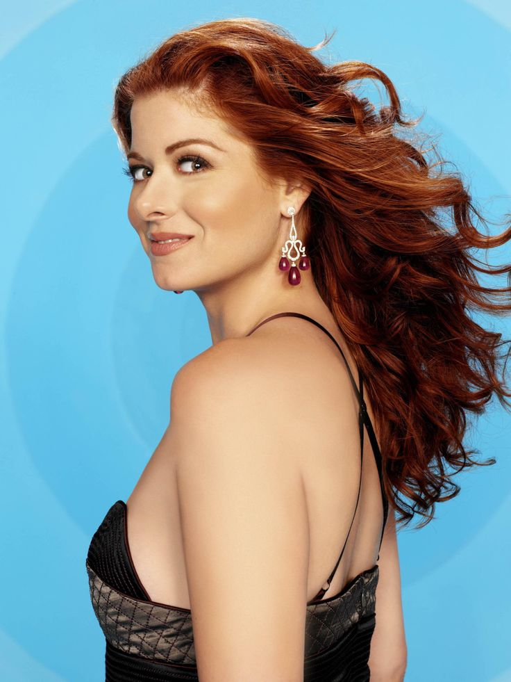 Debra Messing Natural Curly Hair