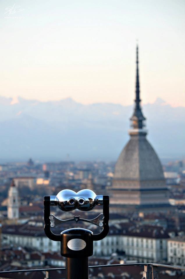 La Mole torna al suo aspetto originale. #Torino febbraio 2013
