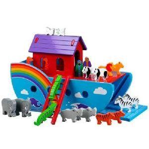 Wooden Rainbow Ark- Large