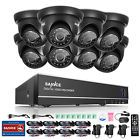 SANNCE 8CH 1080N HDMI DVR 1500TVL HD IR CCTV Video Home Security Camera System