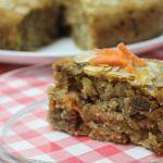 Recept wortel-dadeltaart