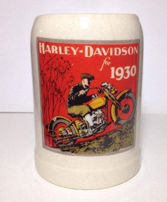 #HarleyDavidson Beer#Stein 1993 #Vintage