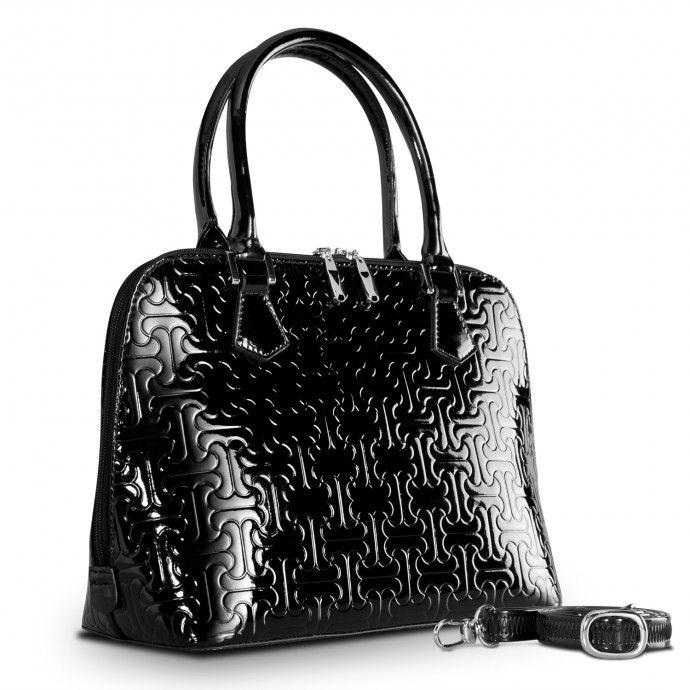 Reora Black Jigsaw by Bravo Handbags