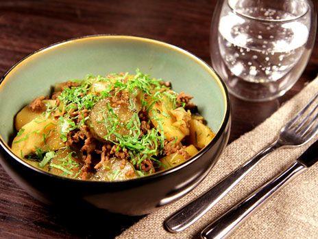 Sjömansgryta med köttfärs och porter | Recept från Köket.se