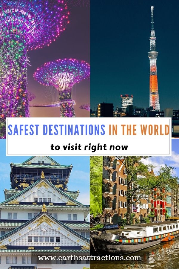 The Safest Cities In The World To Visit Right Now Earth S Attractions Travel Guides By Locals Travel Itineraries Travel Tips And More Safest Places To Travel Places To Travel Safe Cities