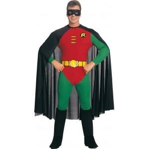 Incarnez le bras droit de Batman en revêtant ce superbe costume ,sous licence officielle ,de robin... Livraison sous 8 jours