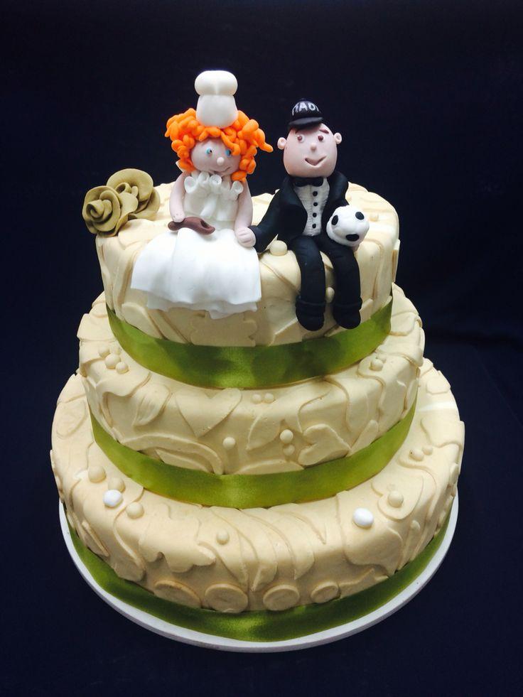 Handmade wedding couple!