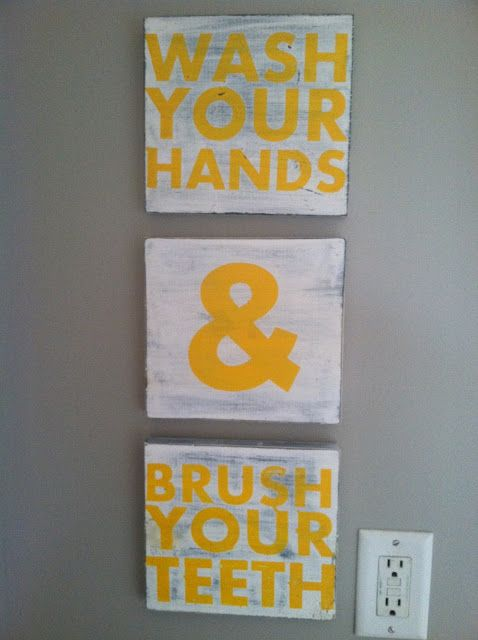 Diy Kids Bathroom Decor best 25+ yellow bathroom decor ideas on pinterest | guest bathroom