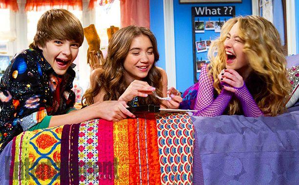 Girl Meets World *Corey Fogelmanis, Rowan Blanchard, and Sabrina Carpenter*
