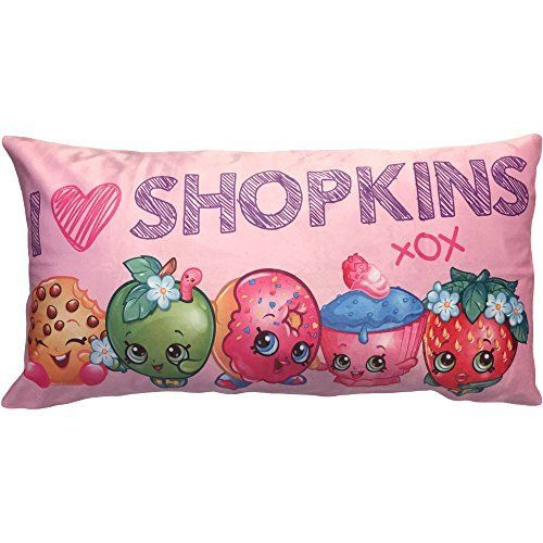 Shopkins Toys Character Body Pillow Bedding Accessory - Kids