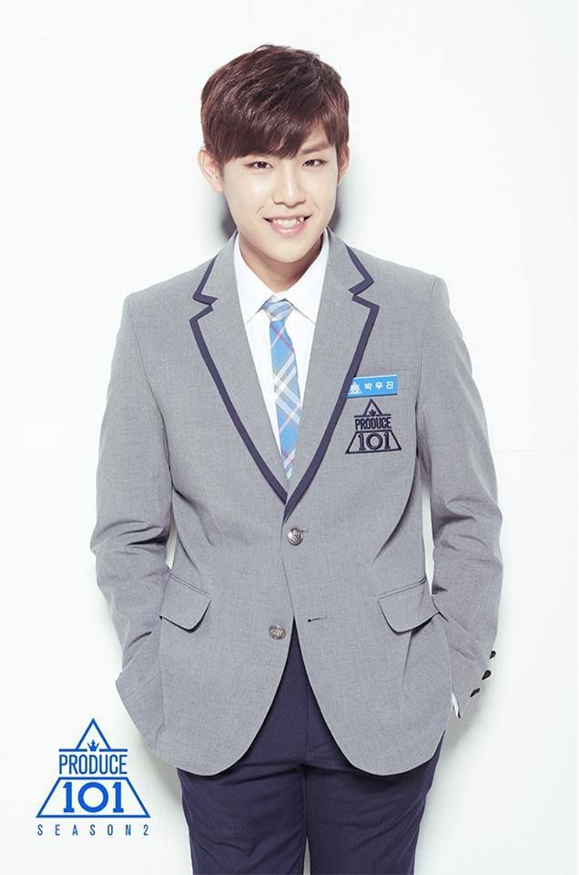 produce 101 s2 boys profile photos park woojin