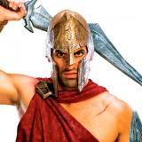 Casco soldado Espartano. 300