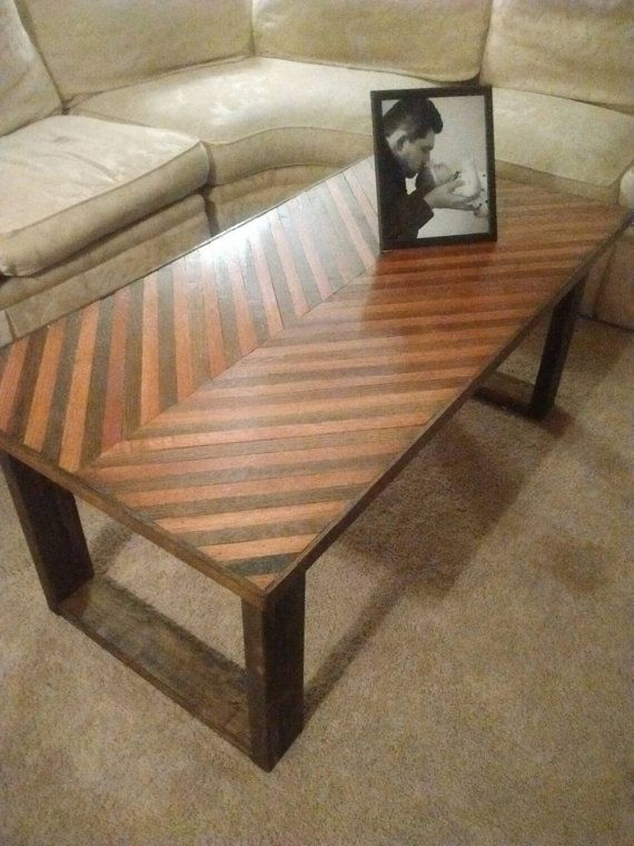 17 Best Ideas About Chevron Coffee Tables On Pinterest Diy Dining Table Chevron Table And Diy