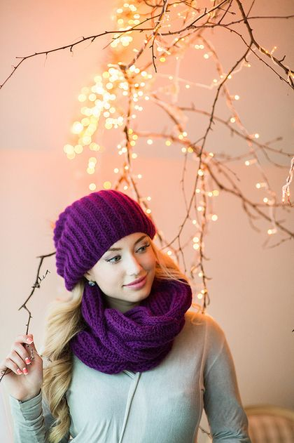комплект шапка и шарф, шапка и шарф женский, комплекты вязаные, вязаные шапка и…