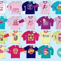 Kaus Afrakids Lengan Panjang 2015 Size XS & S